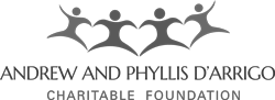 Andrew and Phyllis D'Arrigo logo.